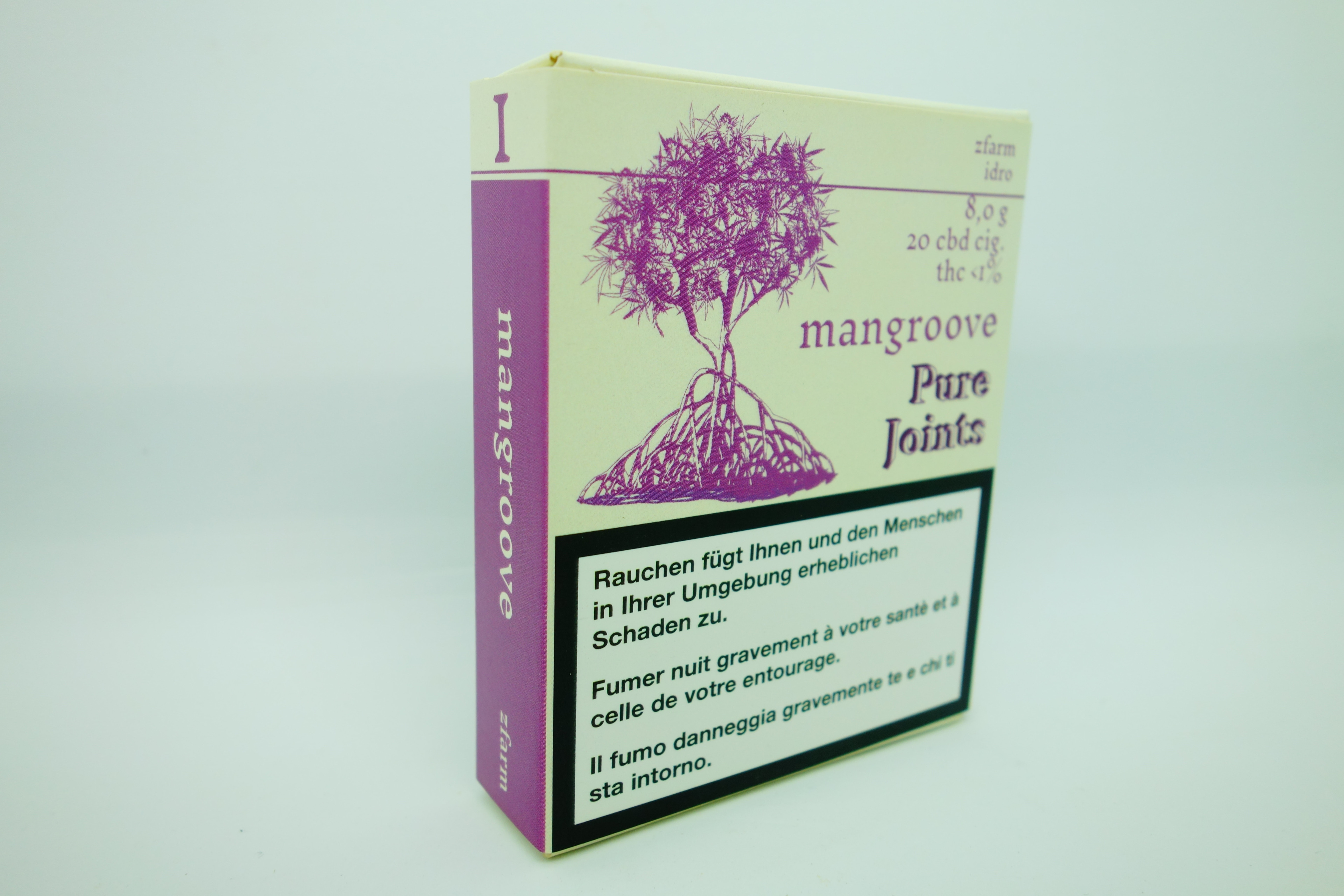 Mangroove Cbd Pure Joints 8gr X 20 Cones